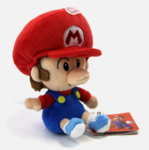 Baby Mario Plush - Super Mario Collection